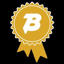 gold ribbon icon