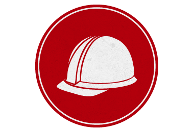 red safety icon