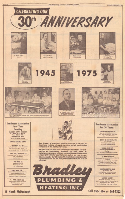 article from 1975 ceebrating 30th anniversary
