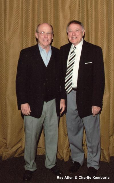 Ray Allen and Charlie Kamburis