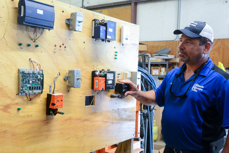 climate services commercial HVAC controls