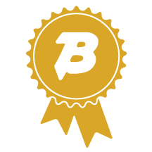 gold ribbon icon
