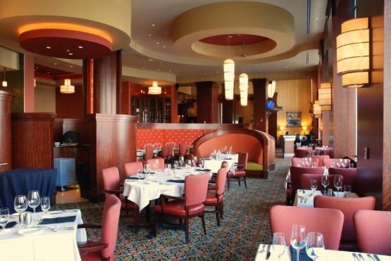 Renaissance hotel dinning room in Montgomery Alabama